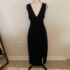 BCBG long black dress